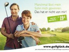 Golf. Mitten ins Glück