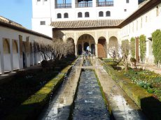 Garten Alhambra - Granada