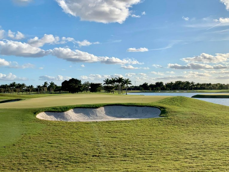 USA - M aiami - Trump National Doral - Blue Monster Golf Course.