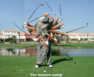 Swing forward - OnGolf