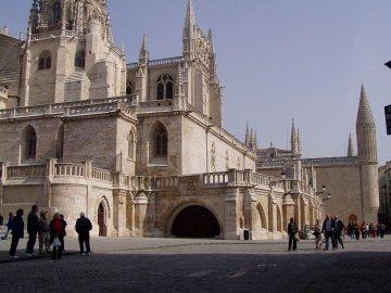 Kathedrale in Burgos Kastilien-Léon - Spanien