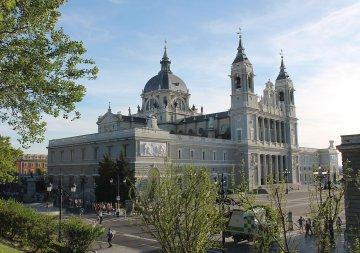 Kathedrale von Almuneda - Madrid - Spanien