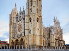Kathedrale - Kastilien-Léon - Spanien