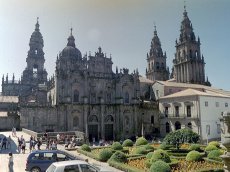 Spanien - Galicien - Santigo de Compostela