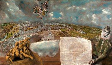 Toledo von El Greco - Kastilien La-Mancha - Spanien