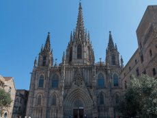 Kathedrale von Barcelona Katalonien - Spanien