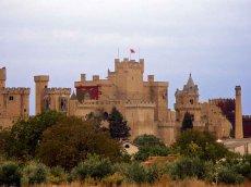Palast von Olite - Navarra - Spanien