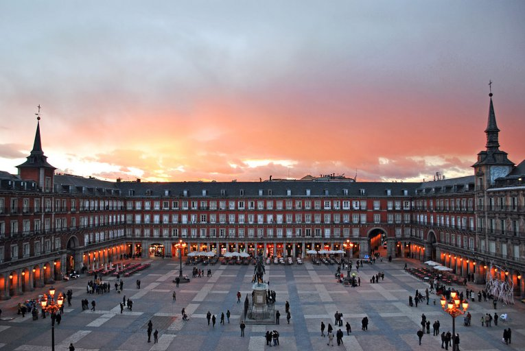 Plaza Major Madrid - Spanien