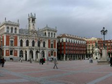 Plaza Mayor in Valladolid - Kastilien-Léon - Spanien