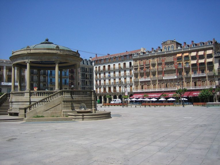 Plaza Major - Navarra - Spanien