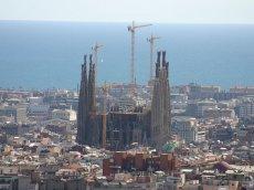 Sagrada Familia in Barcelona - Katalonien - Spanien