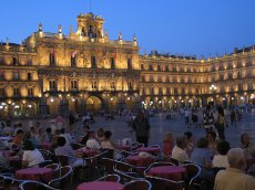 Plaza Mayor in Salamance - Kastilien-Léon - Spanien