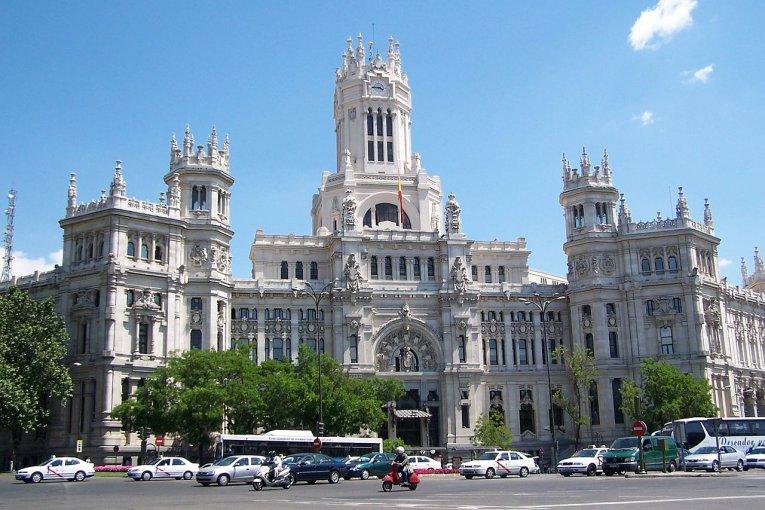 Palacio de Communicationes Madrid - Spanien