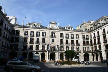 Spanien - Kantabrien - Plaza Porticada Santander