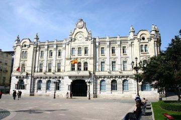 Spanien - Kantabrien - Rathaus von Santander