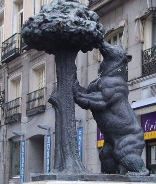 Wahrzeichen der Stadt Madrid