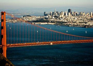 Golden Gate Bridge - Kalifornien - USA