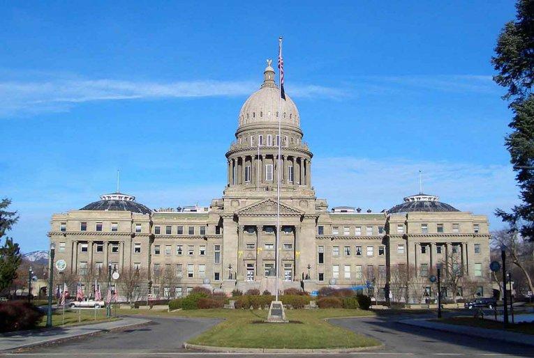 USA - Idaho - Capitol