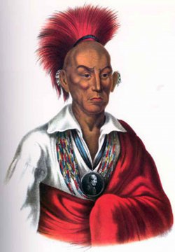 USA - Iowa - Chief Black Hawk