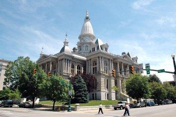 USA - Indiana - Tippecanoe Courthouse