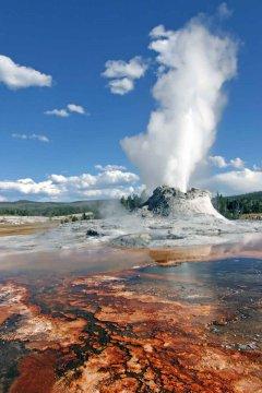 USA - Idaho Geysir