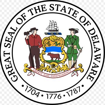 USA - Seal of Delaware