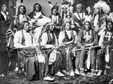 USA - Minnesota - Häuptlinge der Sioux