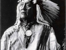 USA - Minnesota - Häuptling der Sioux