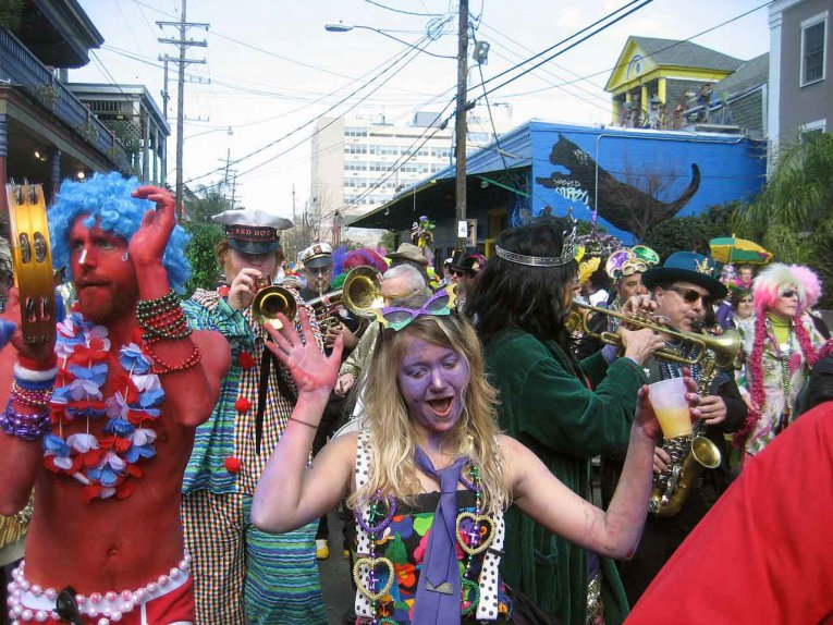 USA - Louisiana - Mardi Gras