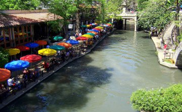 USA - Texas - River Walk in San Antonio