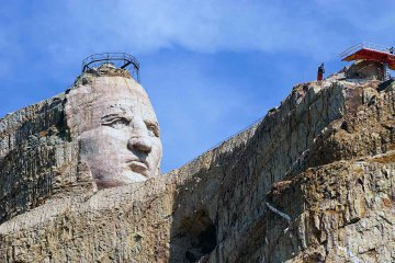 USA - South Dakota - Crazy Horse