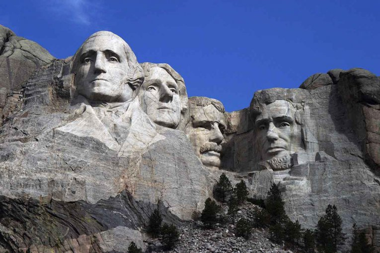 USA - South Dakota - Mount Rushmore