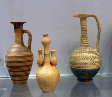 Krtea-Archäologisches Museum - geometrischer Stil
