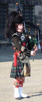 Schottland - Dudelsackspieler