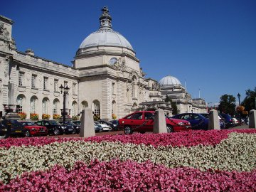 Wales - Cardiff City Hall