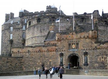 Schottland - Edinburgh Schloss