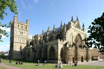 England - Exeter Kathedrale