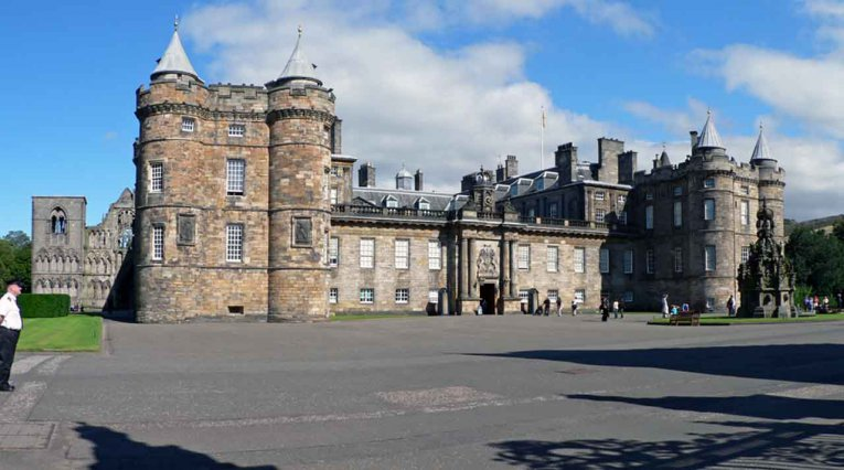 Schottland - Royal Palace of Holyroodhouse