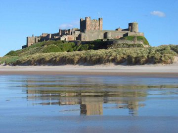 North East England - Bamburgh Castle