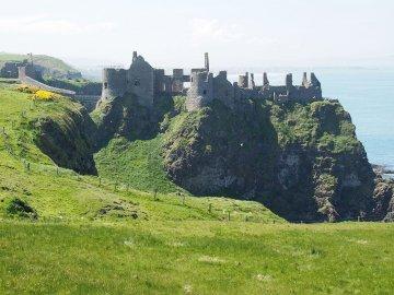 Irland - Dunluce Castle
