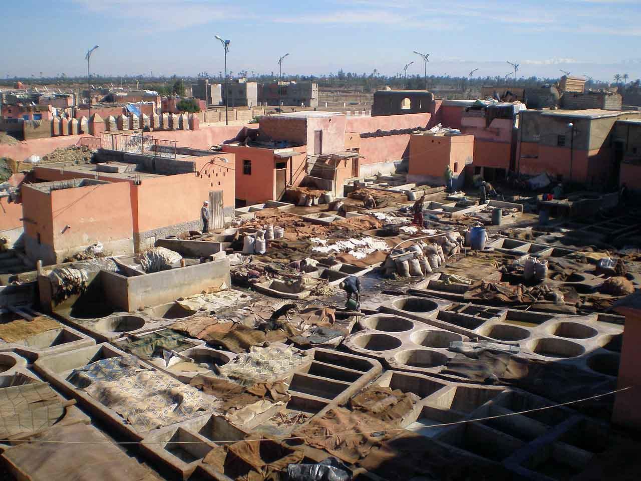 Marrakesch Die Rote Stadt Ongolf
