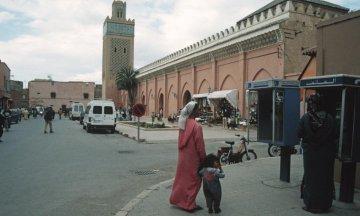 Marokko - Moschee Al Mansur