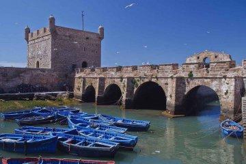 Marokko - Essaouira Hafen