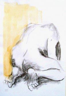 Torsten Paul - Zeichnungen - Aktstudie