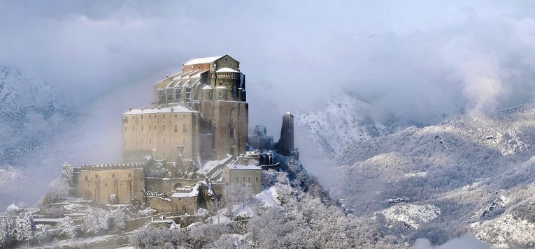 Italien - Piemont - Sacra di San Michele