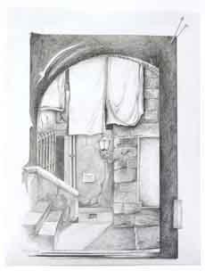 Torsten Paul - Zeichnungen - Pittigliano