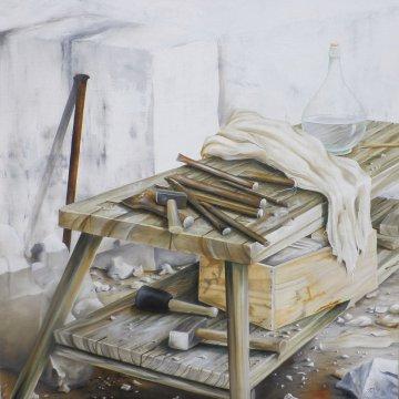 Torsten Paul - Malerei - Atelierplatz