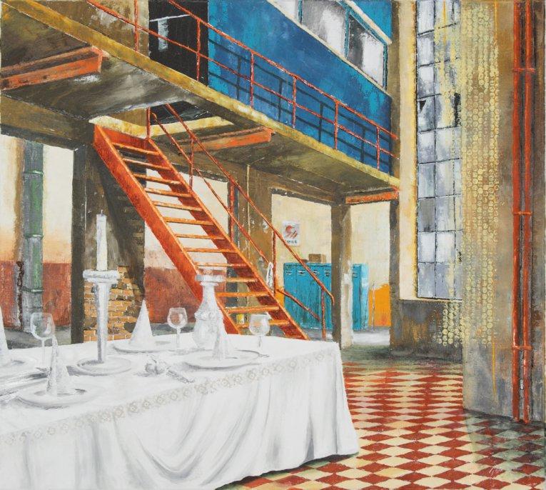 Torsten Paul - Malerei - Werksgelände