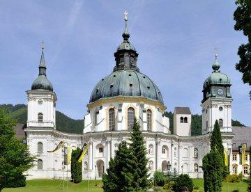 Bayern - Allgäu - Kloster Ettal