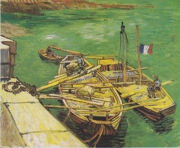 Van Gogh - Rhonebarken